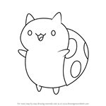 How to Draw Catbug from Bravest Warriors