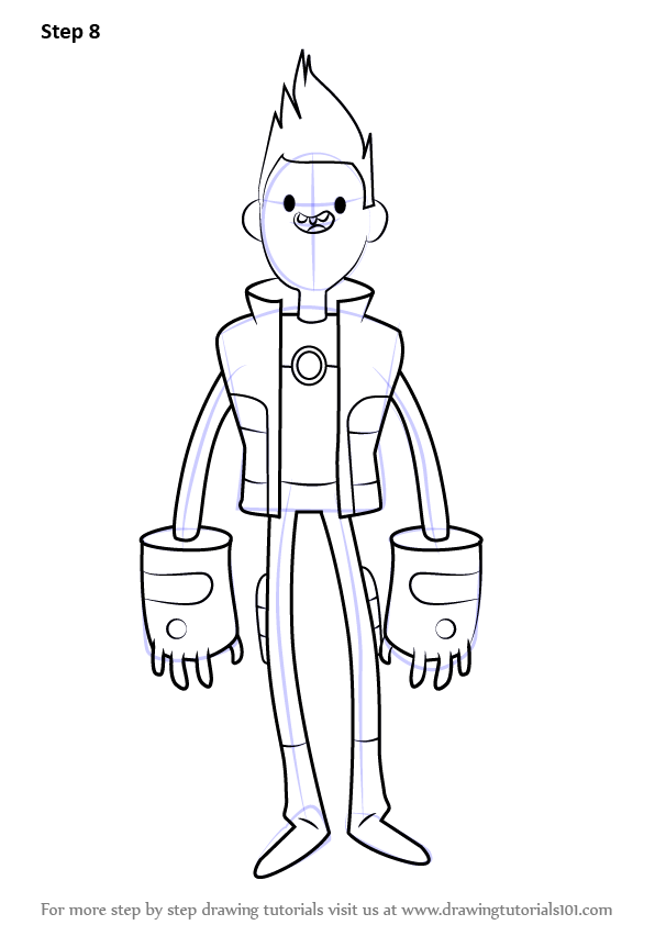 learn how to draw chris kirkman from bravest warriors