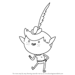 How to Draw Wankershim from Bravest Warriors