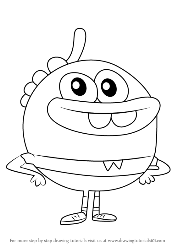Nickelodeon Breadwinners Coloring Pages Bread Page