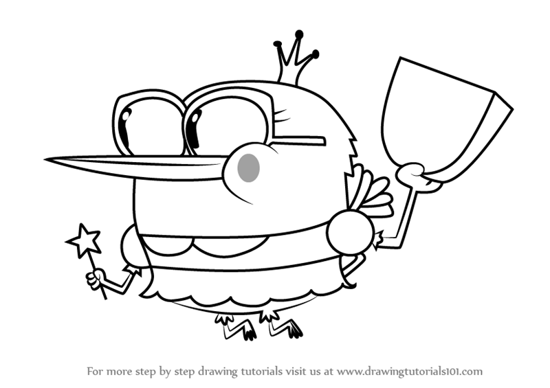 Breadwinners Coloring Pages L0 | 565x800