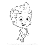 How to Draw Gil from Bubble Guppies