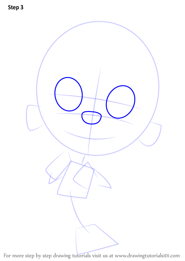 how to draw molly from bubble guppies