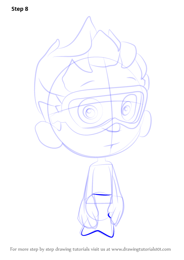Learn How To Draw Nonny From Bubble Guppies Bubble