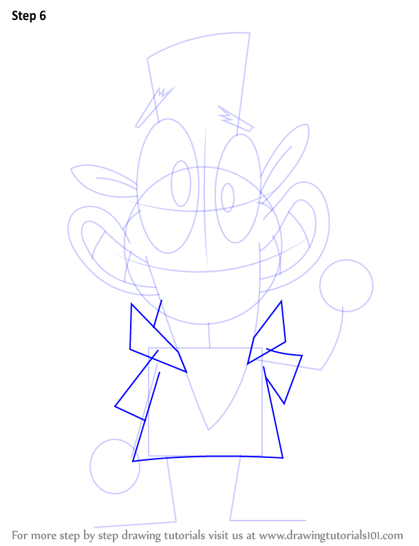 Step by Step How to Draw Clam from Camp Lazlo ...