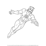 How to Draw Captain Planet