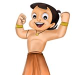 How to Draw Bheem from Chhota Bheem