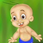 How to Draw Raju from Chhota Bheem