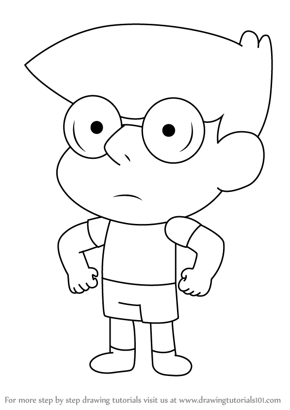 Learn How To Draw Brady From Clarence Clarence Step By