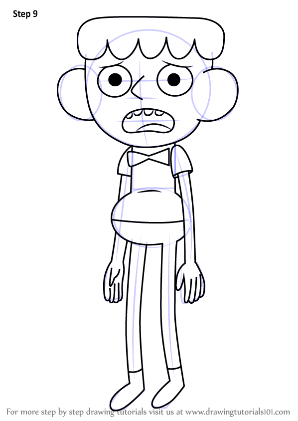 Learn How to Draw Breehn from Clarence