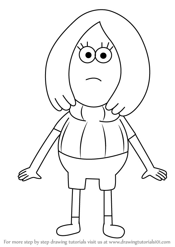 Learn How To Draw Mavis From Clarence Clarence Step By