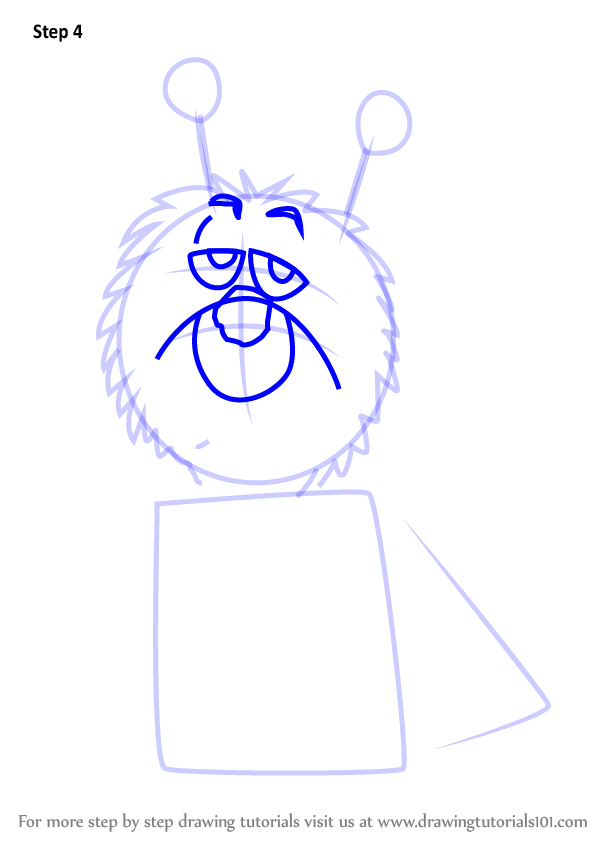 Learn how to draw nero from danger mouse danger mouse for How to draw a cartoon mouse step by step