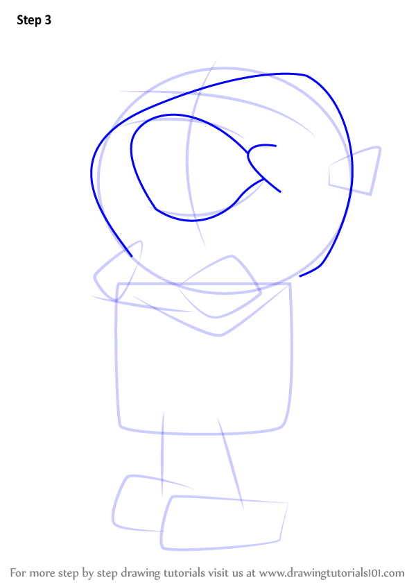 Step by step how to draw penfold from danger mouse for How to draw a cartoon mouse step by step