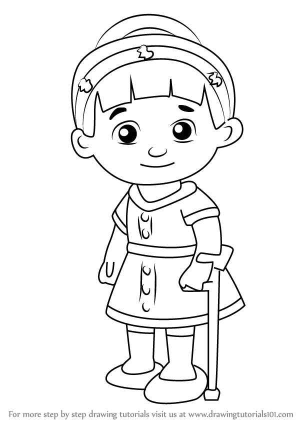 Learn how to draw chrissie from daniel tiger 39 s for Daniel tiger coloring pages