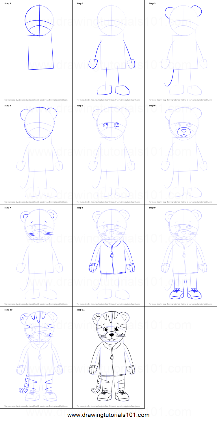 how to draw a neighborhood step by step