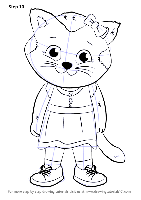 daniel tiger family coloring pages - photo#31