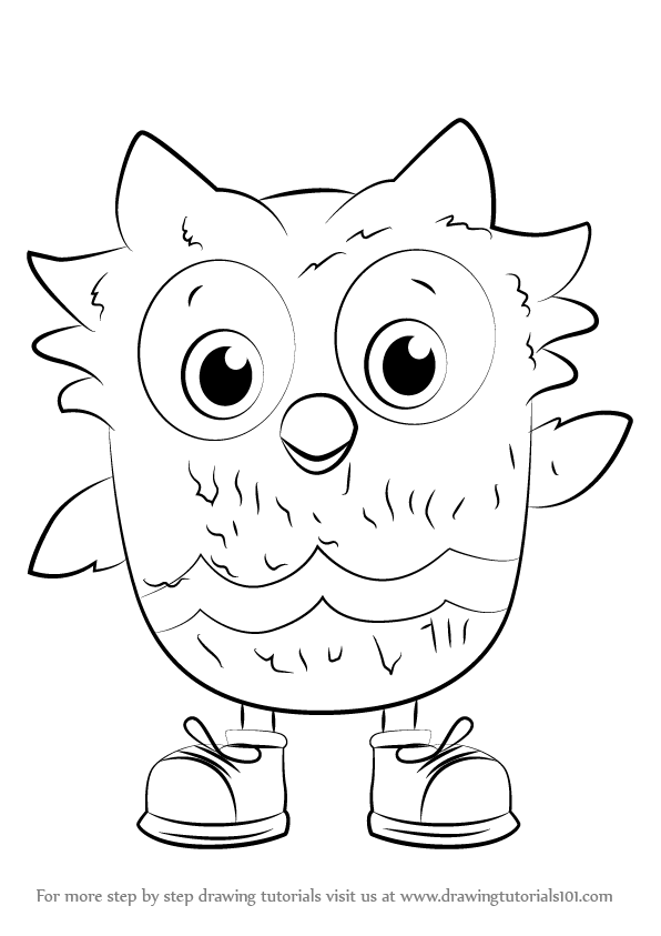Learn How to Draw O the Owl from