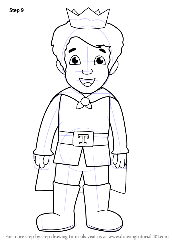 Learn How to Draw Prince Tuesday from Daniel Tiger 39 s
