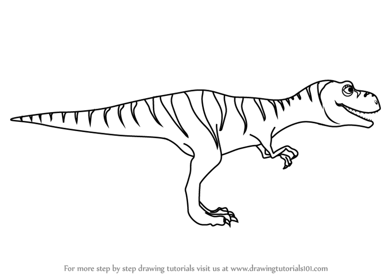 Velociraptor coloring pages  Free Coloring Pages