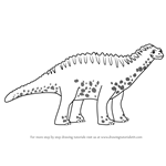 How to Draw Martin Amargasaurus from Dinosaur Train