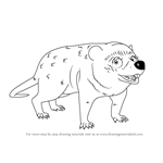 How to Draw Selma Cimolestes from Dinosaur Train