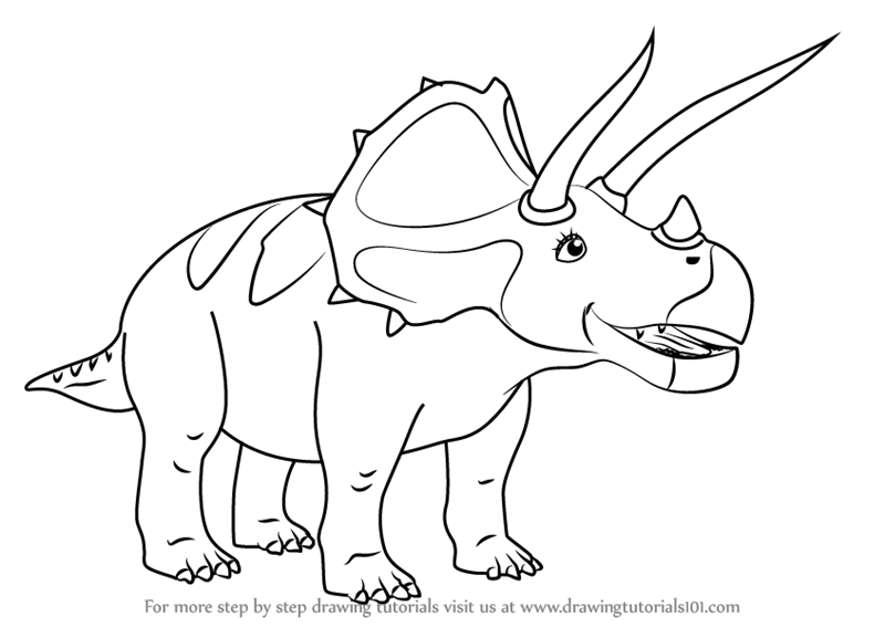 Baby dinosaur coloring pages for kids