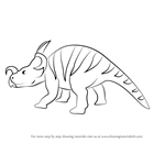 How to Draw Uncle Jack Einiosaurus from Dinosaur Train