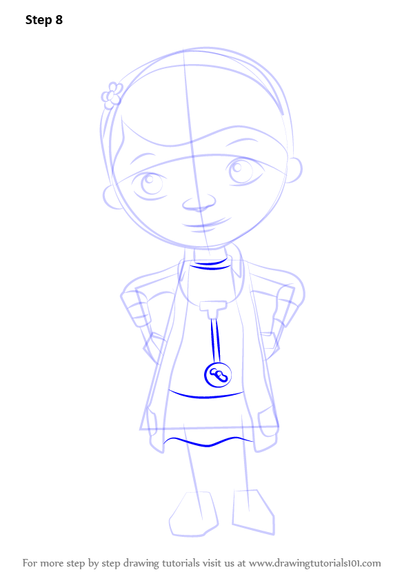 It's just a picture of Sassy Doc Mcstuffins Drawing