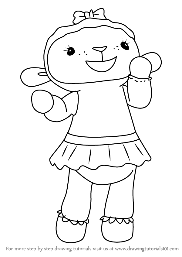 Lambie coloring pages