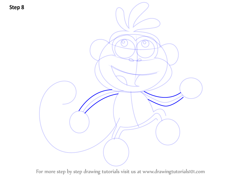 Learn How To Draw Boots From Dora The Explorer Dora The