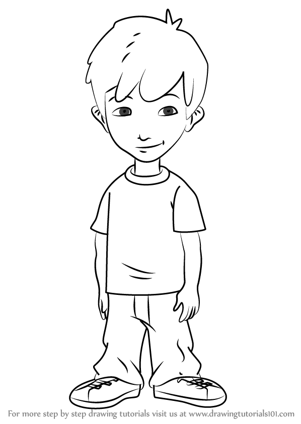 Learn How To Draw Enrique From Dragon Tales Dragon Tales
