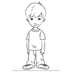 How to Draw Enrique from Dragon Tales