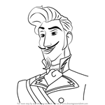 How to Draw Chancellor Esteban from Elena of Avalor