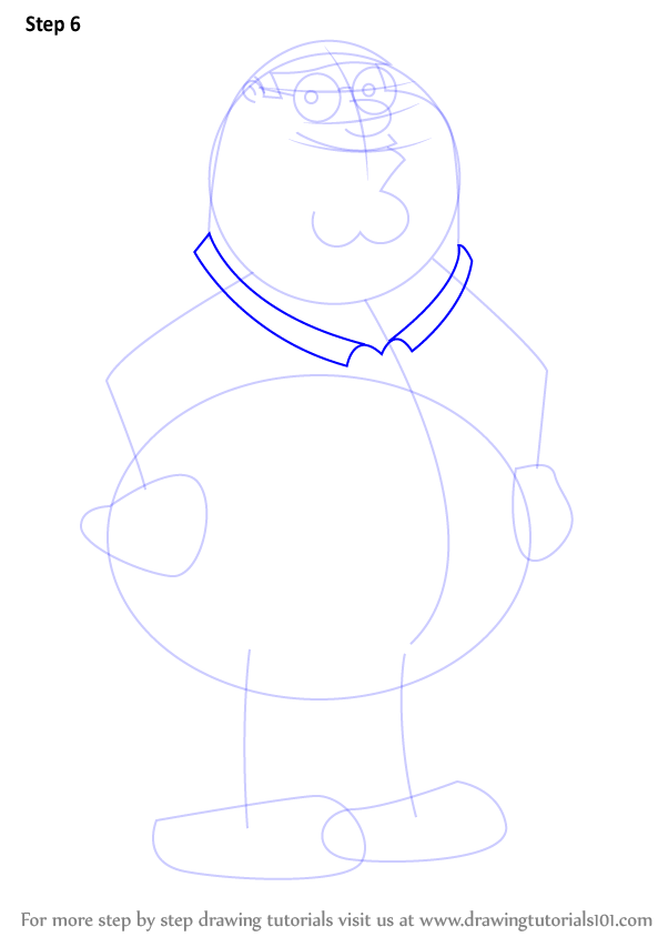 Peter Griffin Drawing - Family Guy - Peter Griffin by kbinitiald on ...
