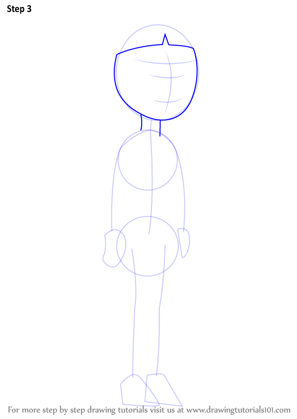 how to draw a guy neck