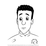 How to Draw Arnold McKinley from Fireman Sam
