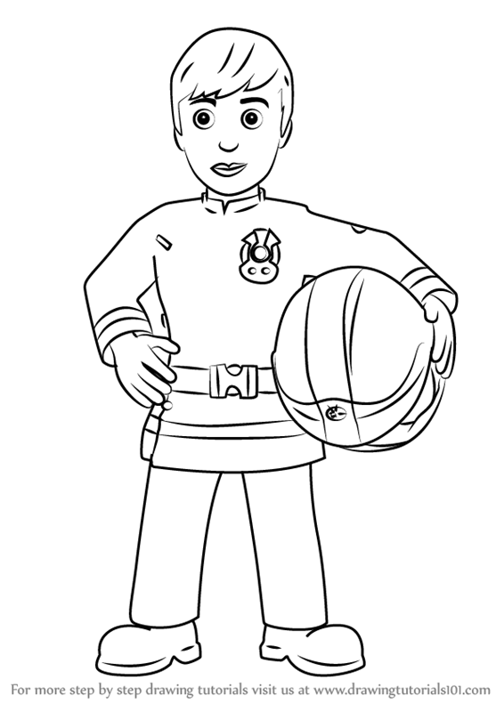learn how to draw ellie phillips from fireman sam fireman sam step by step drawing tutorials