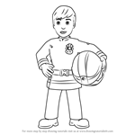 How to Draw Ellie Phillips from Fireman Sam