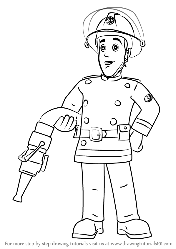 Learn How To Draw Elvis Cridlington From Fireman Sam Fireman Sam