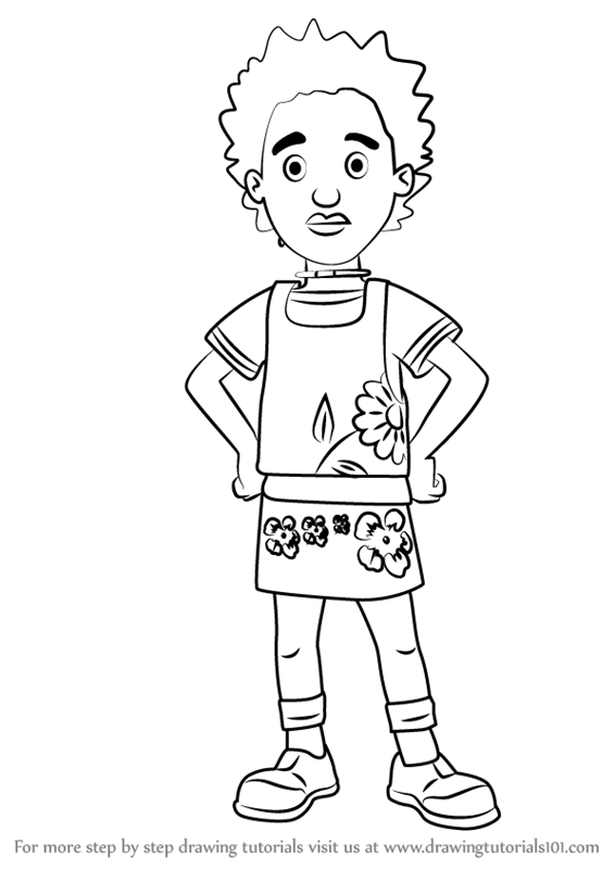 Learn How To Draw Fireman Sam Fireman Sam Step By Step Auto