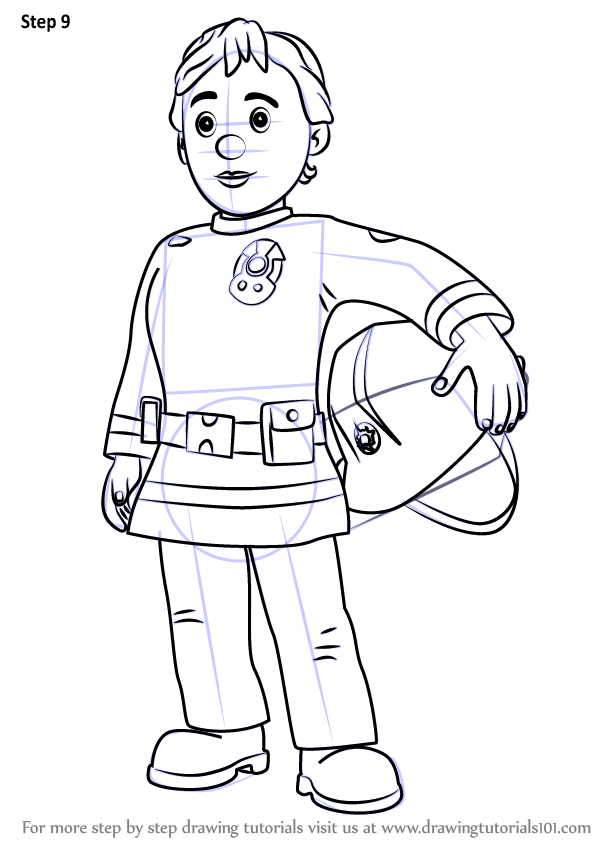 Learn How To Draw Penny Morris From Fireman Sam Fireman