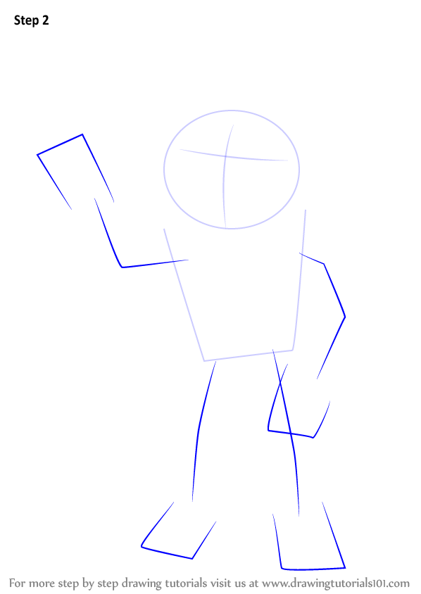 Learn how to draw ben from flower pot men flower pot men step by step 3 ccuart Choice Image