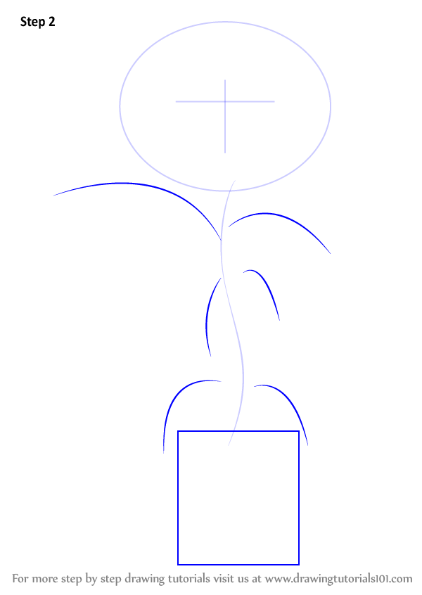 Learn How to Draw Little Weed from Flower Pot Men (Flower ...
