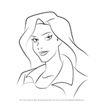 How to Draw Elisa Maza from Gargoyles
