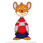 How to Draw Benjamin Stilton from Geronimo Stilton