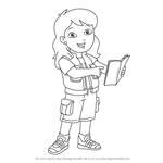 How to Draw Alicia Marquez from Go, Diego, Go!