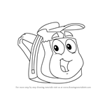 How to Draw Rescue Pack from Go, Diego, Go!