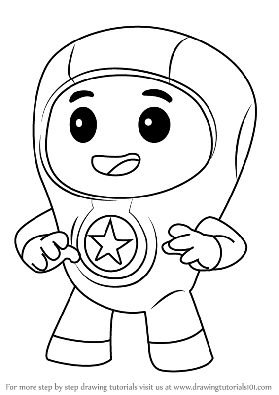 go dog go coloring pages | Learn How to Draw Foz from Go Jetters (Go Jetters) Step by ...