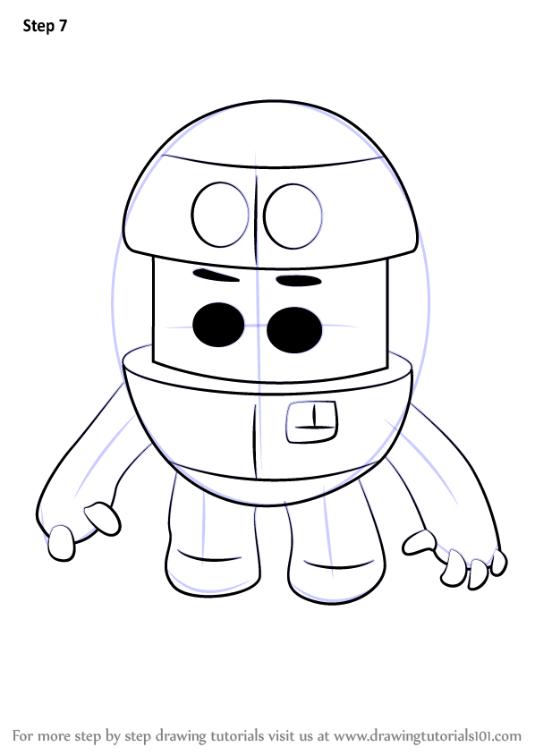 Learn How To Draw Grimbot From Go Jetters Go Jetters