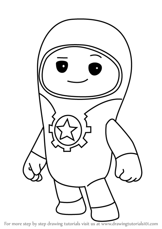 Learn How to Draw Lars from Go Jetters Go Jetters Step